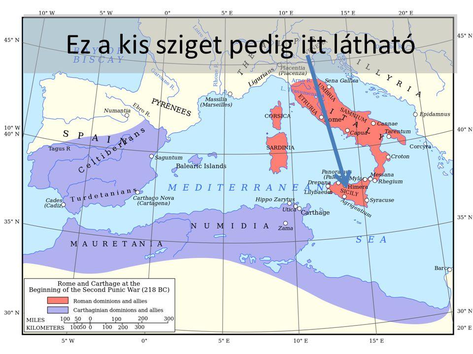A Pun-Római háborúban Karthagónak hatalmas tengeri flottája volt,a Rómaiak viszont gyengék voltak a tengeren.