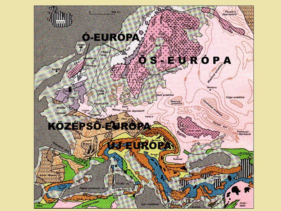b, Ausztroalpi–Dinári-kontinenssor Kontinenssort a Vardar-óceán kőzetlemezének szubdukciója délkelet felé húzta és az elvált az európai szegélyről.