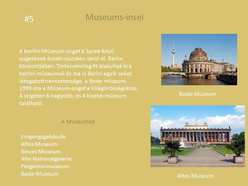 A berlini Múzeum-sziget a Spree folyó szigetének északi csücskén terül el, Berlin központjában.