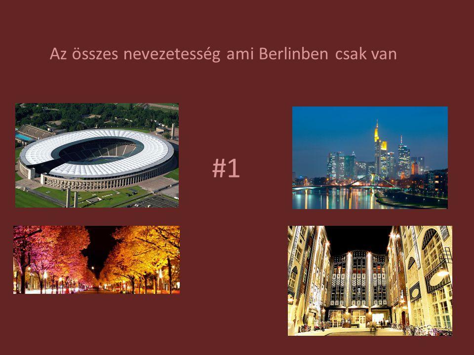 #1 Az összes nevezetesség ami Berlinben csak van