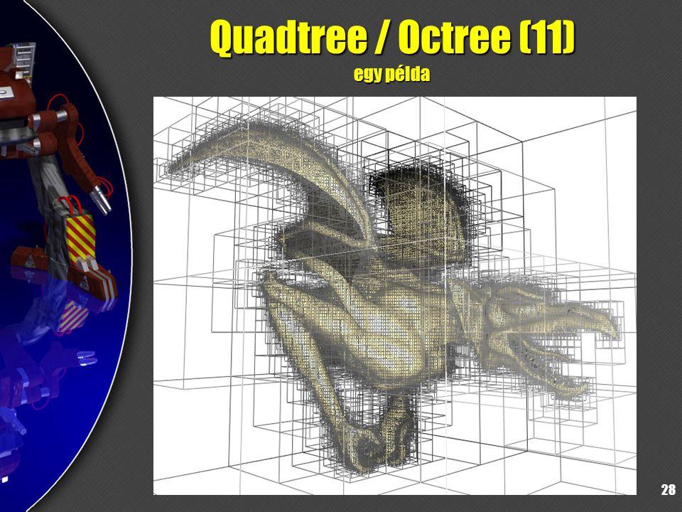 28 Quadtree / Octree (11) egy példa