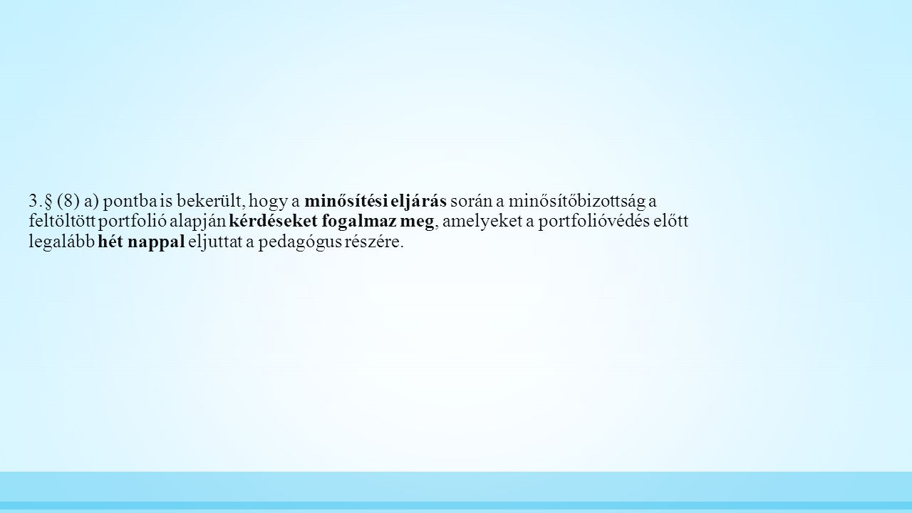 Az összegző értékelés részei: A részek aránya a végső kompetenciaértékben: I.