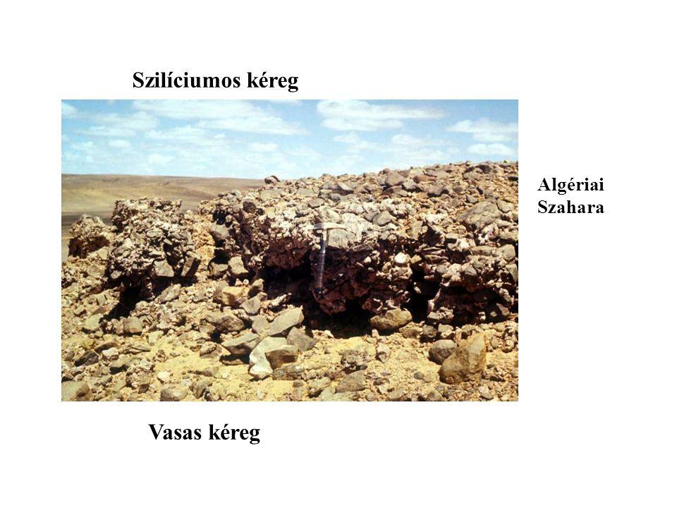 Glacis teraszok - Felső Pliocén - Alsó pleisztocén - Középső pleisztocén - Felső pleisztocén - Jelenlegi felszín FP A K K F J