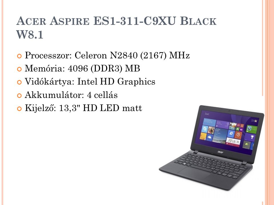 D ELL A LIENWARE 14 Processzor: Intel® Core™ i7 Memória: 8GB Videókártya: NVIDIA Merevlemez mérete: 750GB + 80GB Kijelző mérete: 14.1