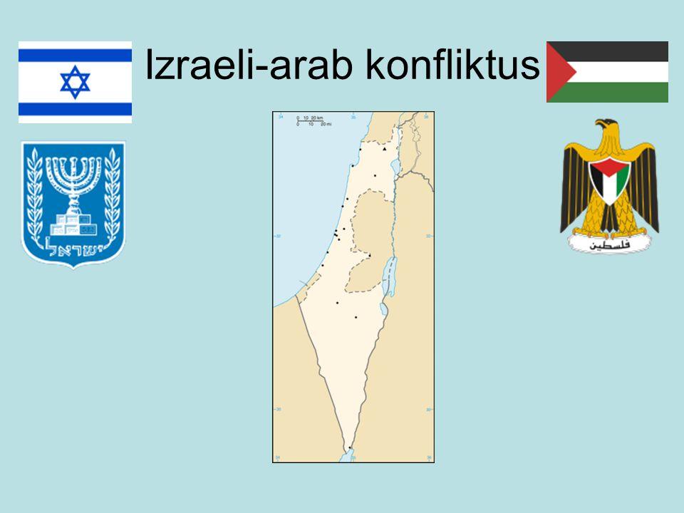 Izraeli-arab konfliktus