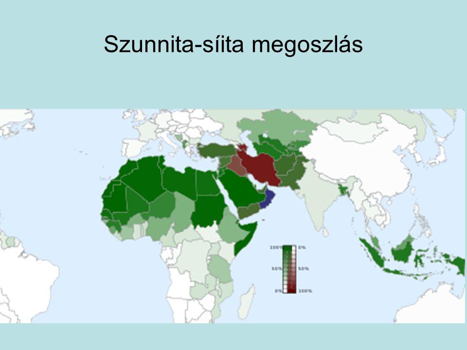 Szunnita-síita megoszlás