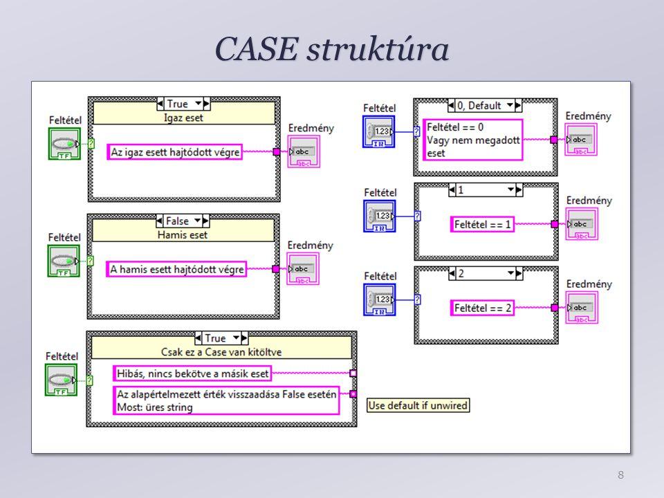 CASE struktúra 8