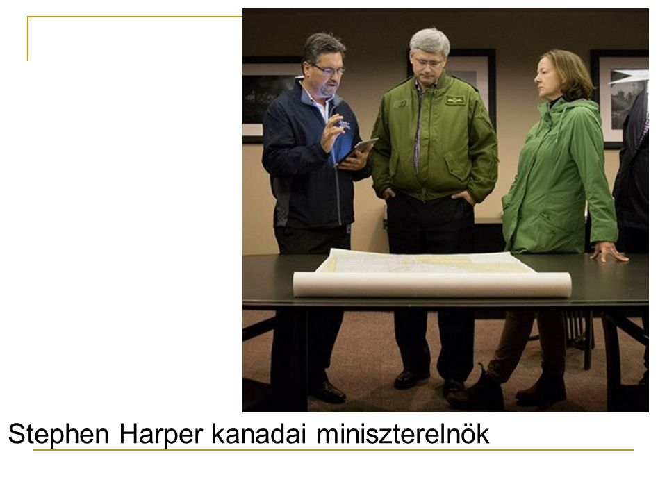 Stephen Harper kanadai miniszterelnök
