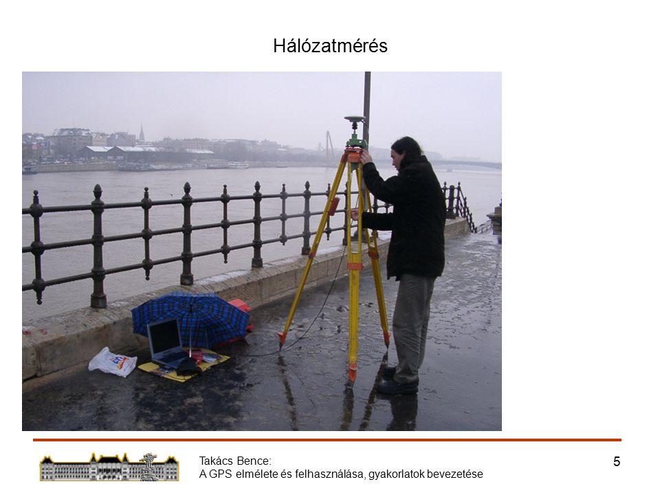 Takács Bence: A GPS elmélete és felhasználása, gyakorlatok bevezetése 16 Együttműködés a Hidak és Szerkezetek Tanszékével