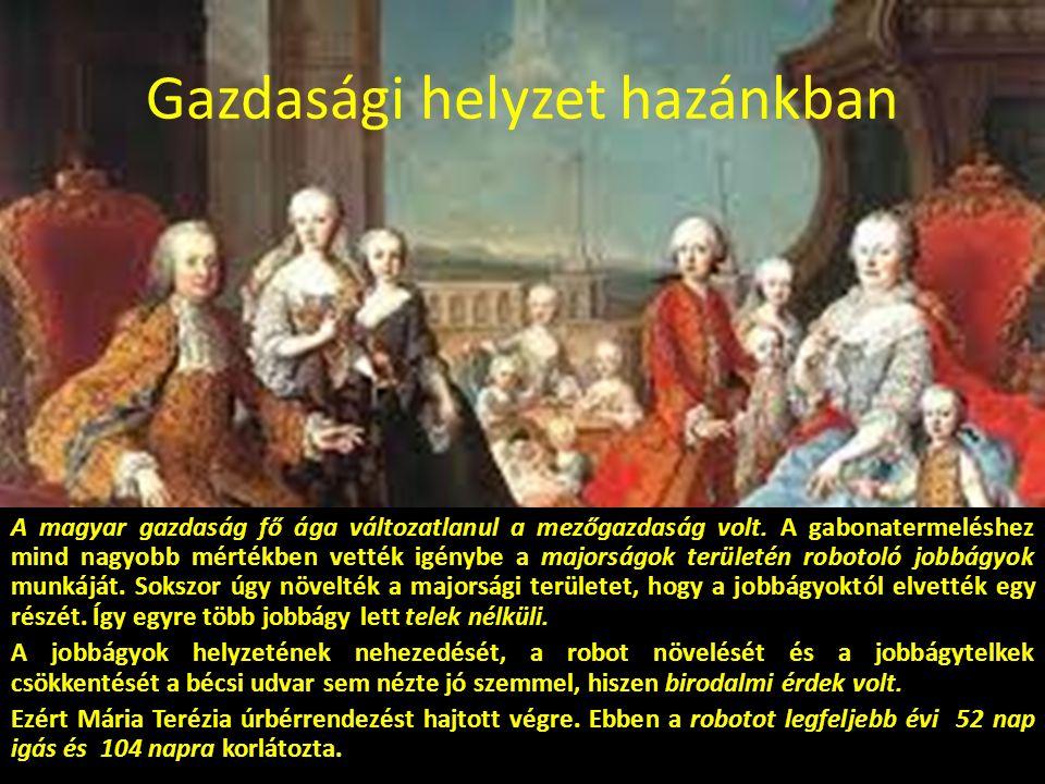 A társadalom a XVIII.században Magyarországon kb.