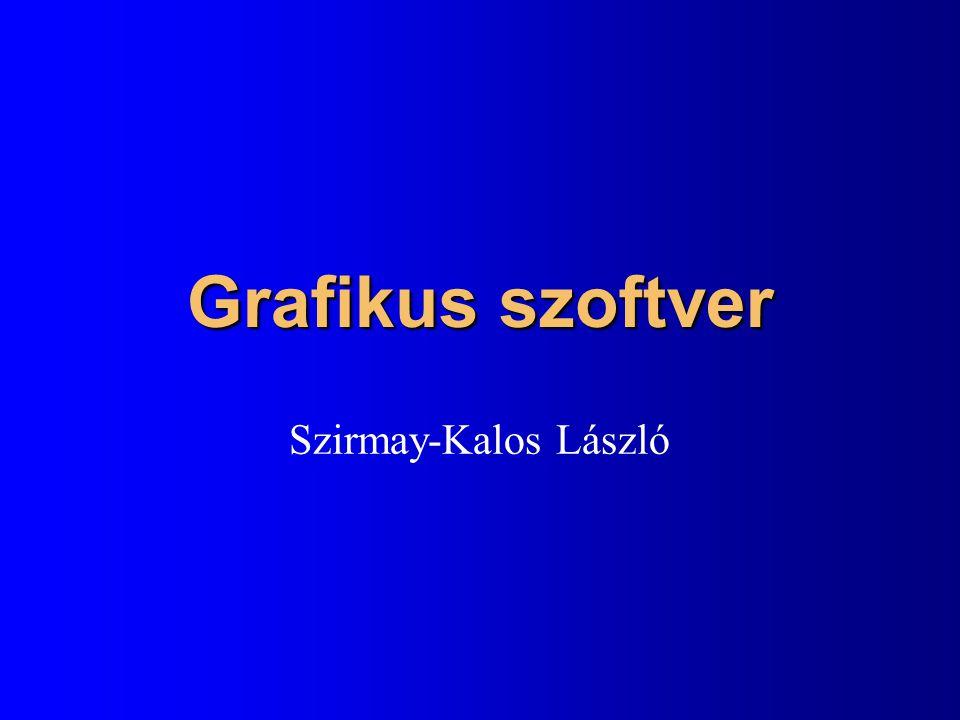 Grafikus szoftver Szirmay-Kalos László