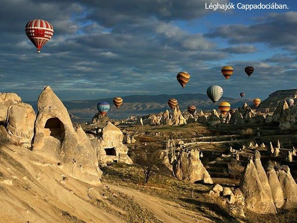Léghajók Cappadociában. 
