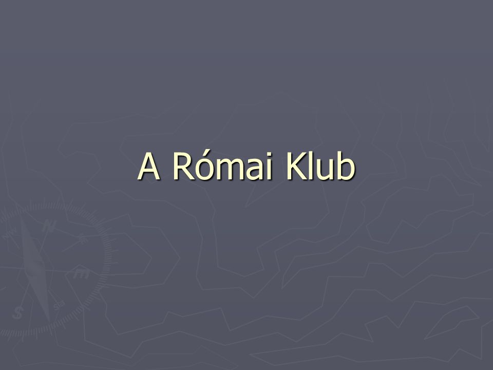A Római Klub