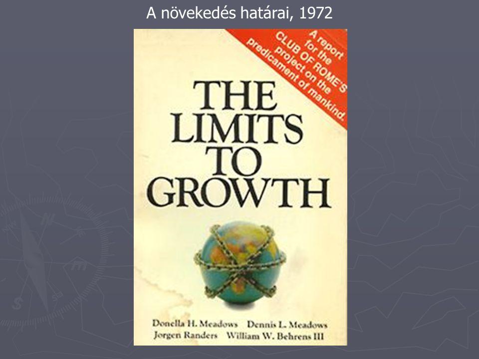 A növekedés határai, 1972
