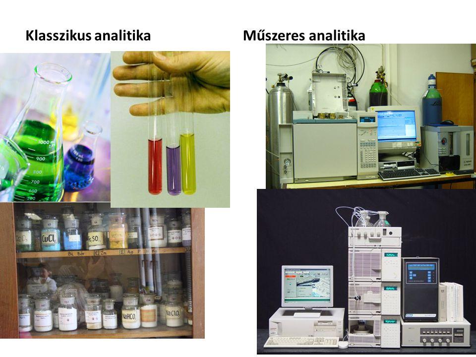 Klasszikus analitikaMűszeres analitika