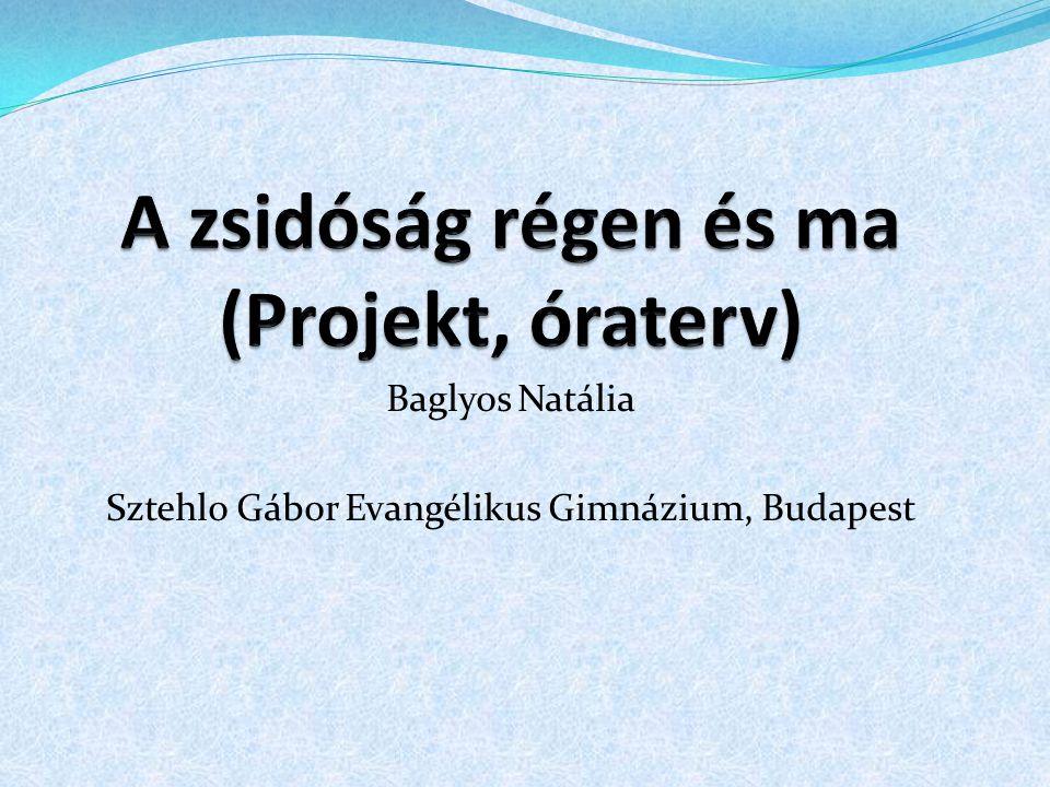 Baglyos Natália Sztehlo Gábor Evangélikus Gimnázium, Budapest