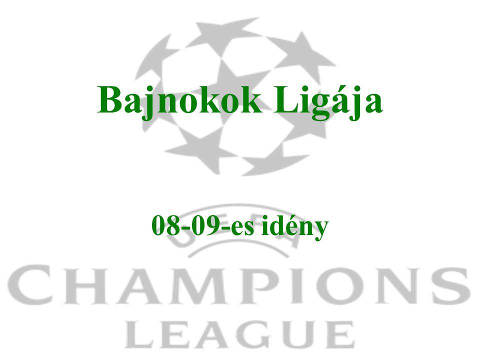 Bajnokok Ligája 08-09-es idény