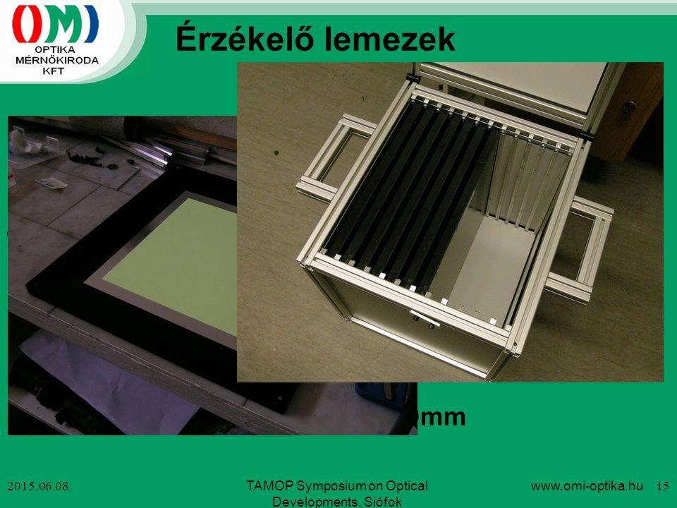 Érzékelő lemezek Röntgen érzékelő fóliák: 300x300mm Neutron érzékelő lemezek (~EUR 3-4,000/db): ZnS/6LiF (0.1 és 0.2mm) Gd2O2S:Tb (0.025 és 0.040mm),