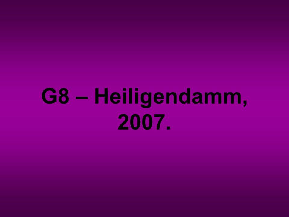 G8 – Heiligendamm, 2007.