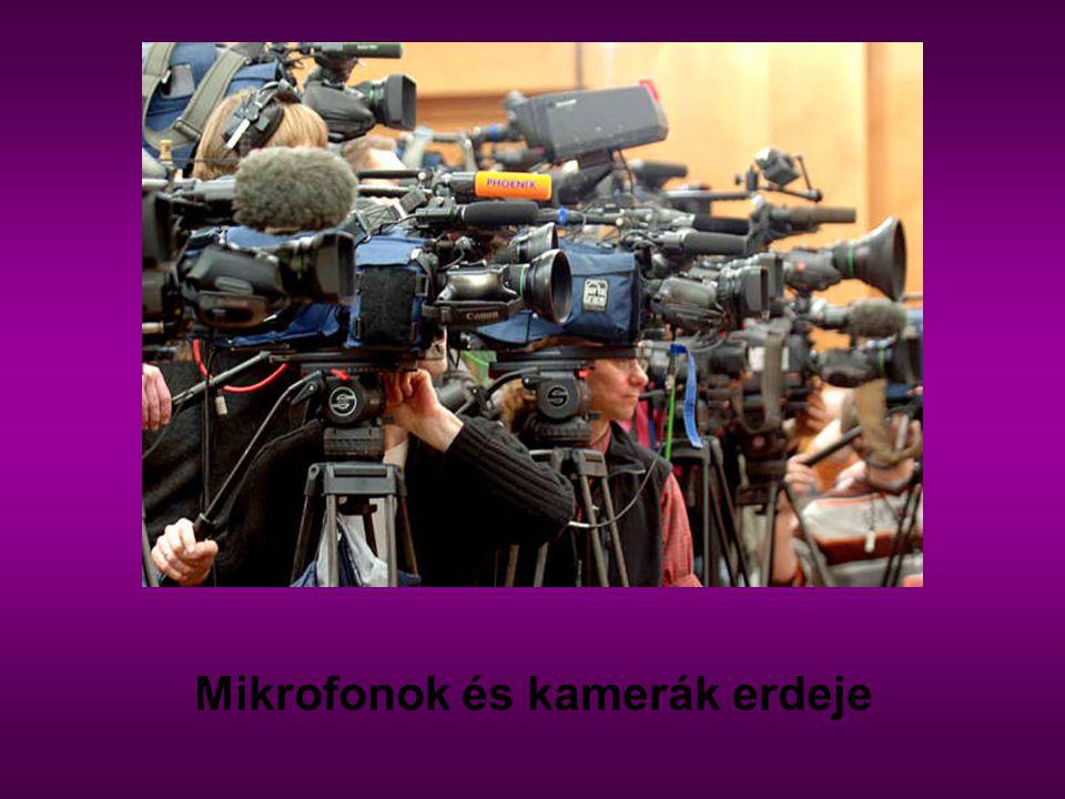 Mikrofonok és kamerák erdeje