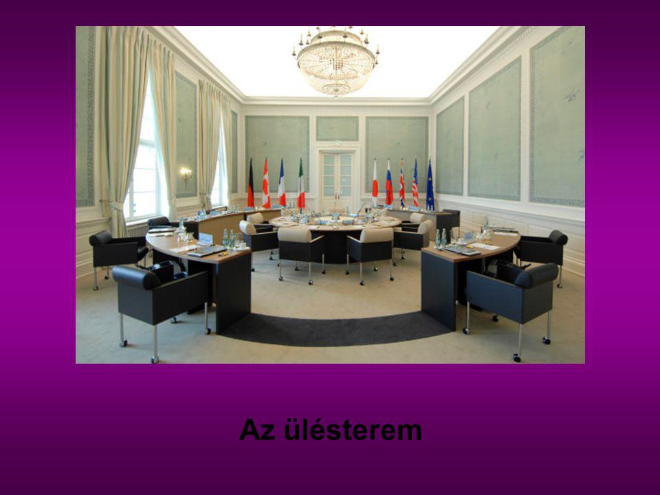 Az ülésterem