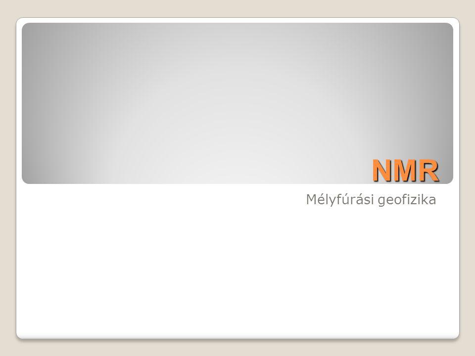 NMR Mélyfúrási geofizika