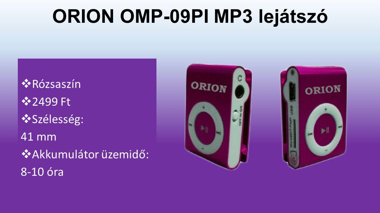 MP3, MP4 lejátszók
