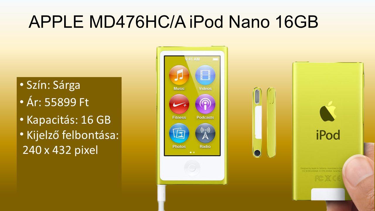 SONY NWZ-E384 MP3/MP4 lejátszó Szín: Fekete Ár: 28899 Ft Kijelző típusa: TFT Kijelző felbontása: 128 x 160 pixel