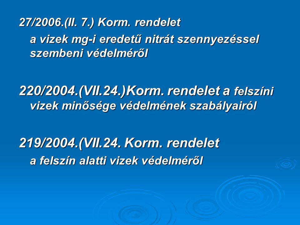 27/2006.(II.7.) Korm.