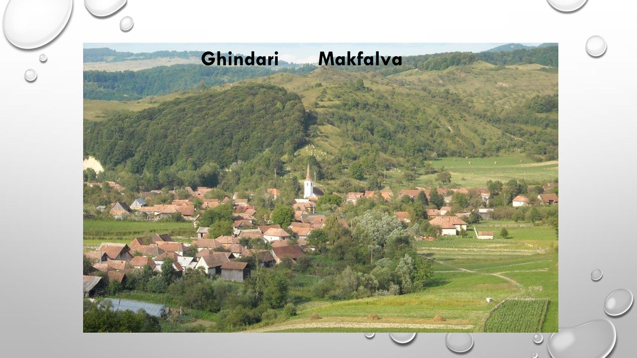 Makfalva községet történelmi örökségei, eseményei, népművészeti, kézműves alkotásai teszik egyedivé a térségben.