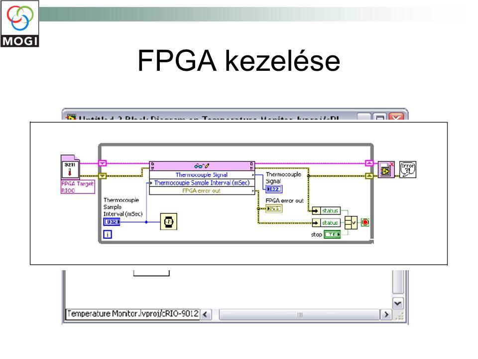 FPGA kezelése