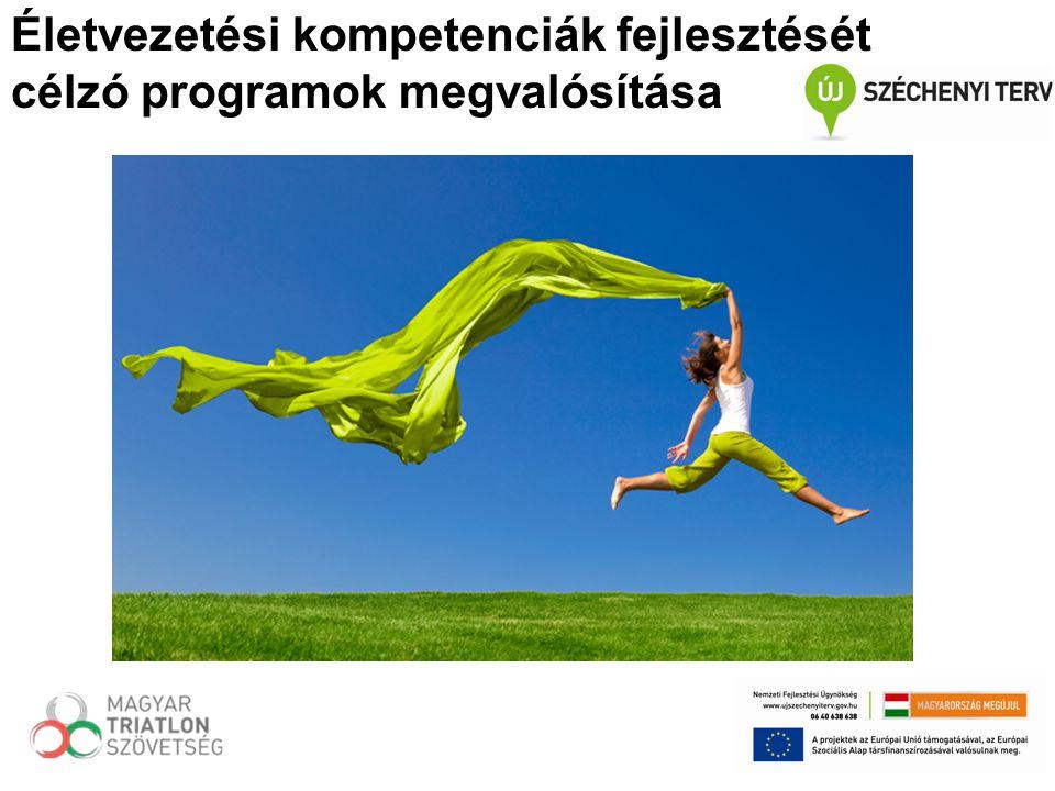 Életvezetési kompetenciák fejlesztését célzó programok megvalósítása