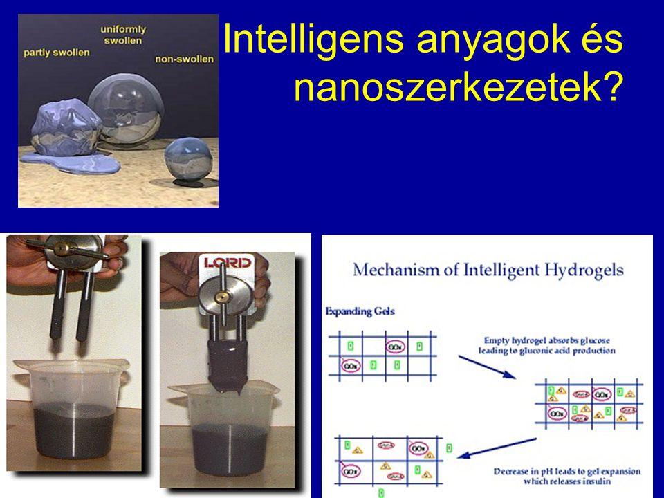 Intelligens anyagok és nanoszerkezetek?
