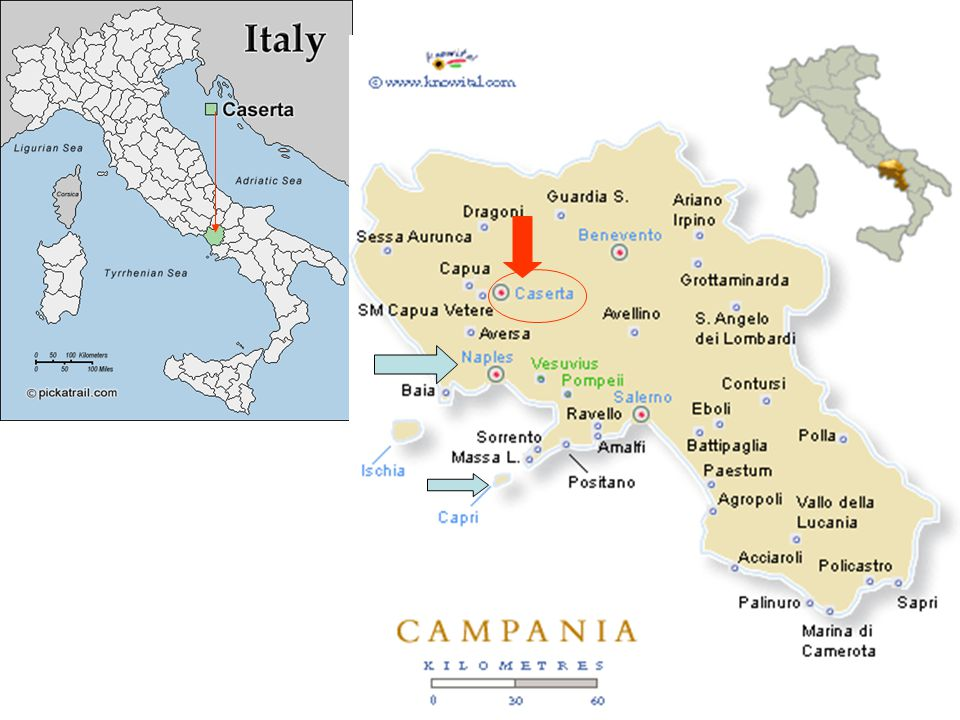 Palota Casertában