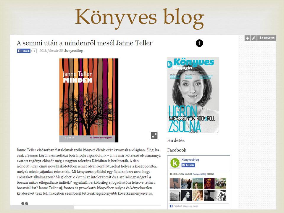  Könyves blog