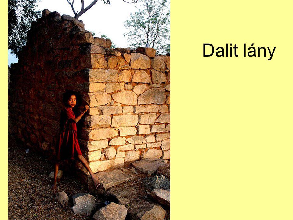 Dalit lány