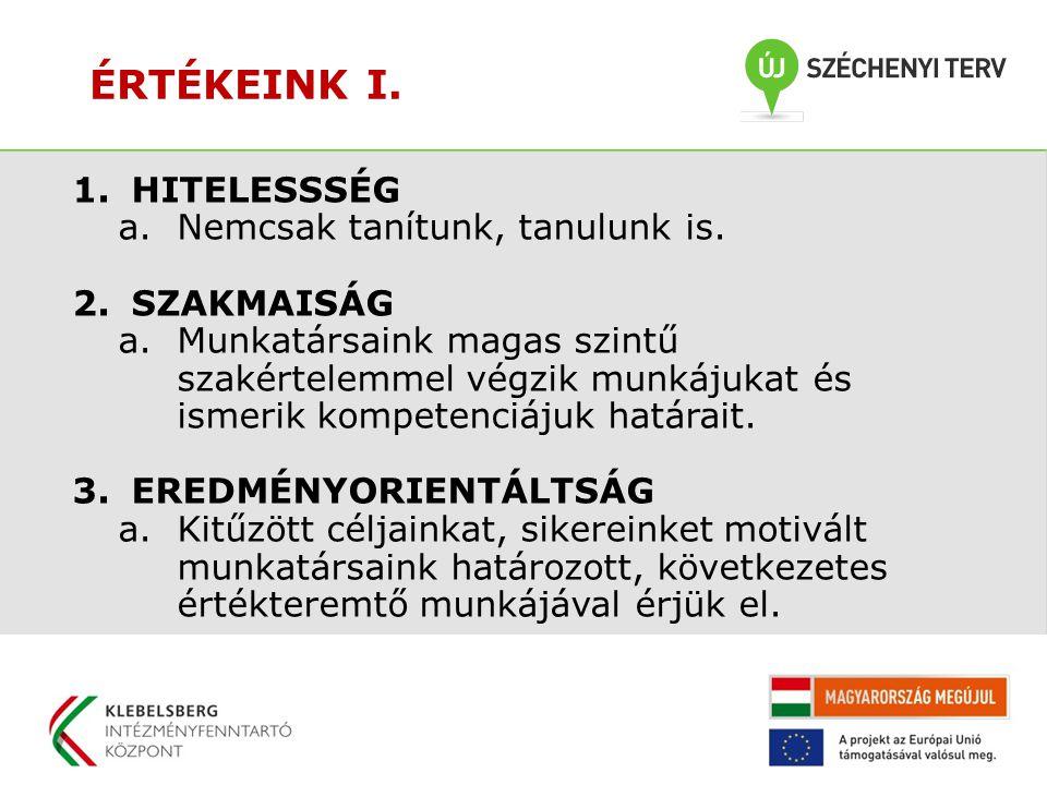 ÉRTÉKEINK II.