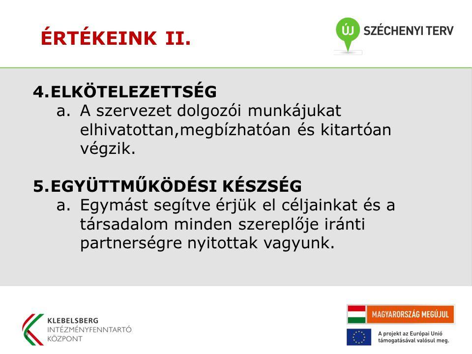 ÉRTÉKEINK III.