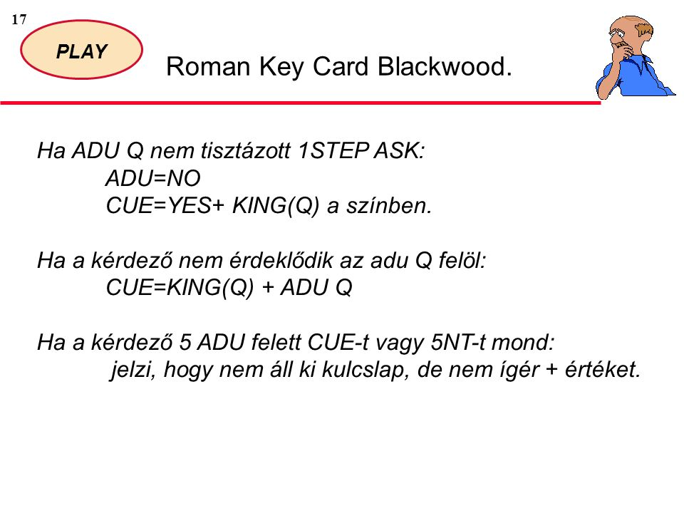 17 PLAY Roman Key Card Blackwood.