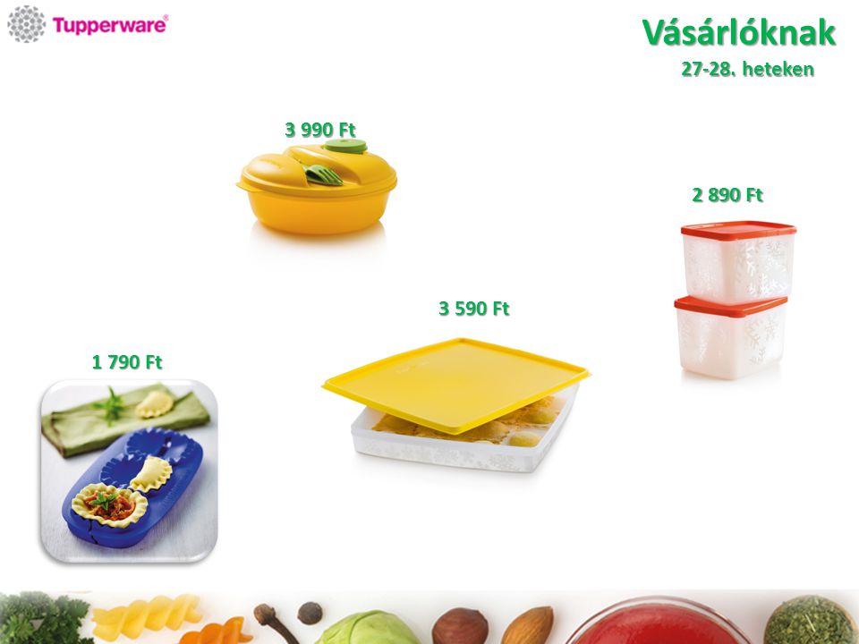 Vásárlóknak Csak Magyarországon a 25-28. heteken 2 490 Ft 5 990 Ft