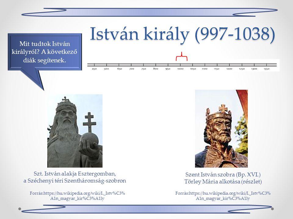 István király (997-1038) Mit tudtok István királyról.