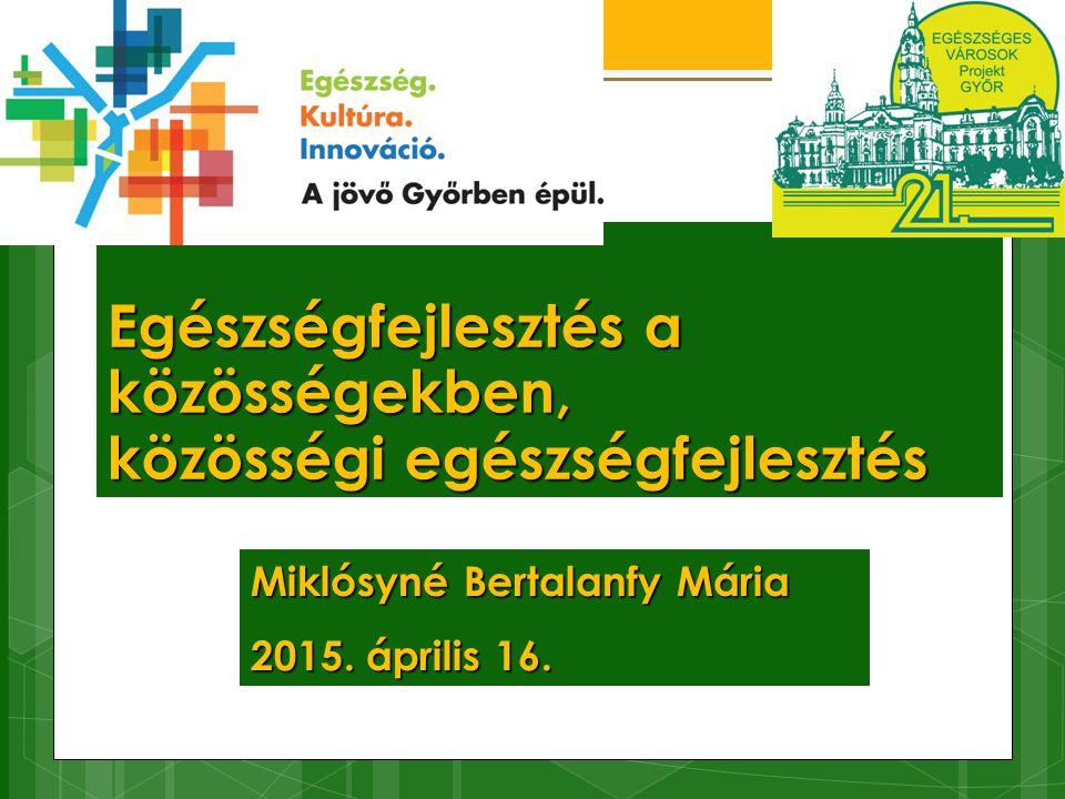 Együttműködő partnerek  Győr M.J.