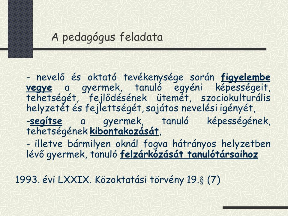 Czeizel Endre 2x4 +1 faktoros modellje (1997)