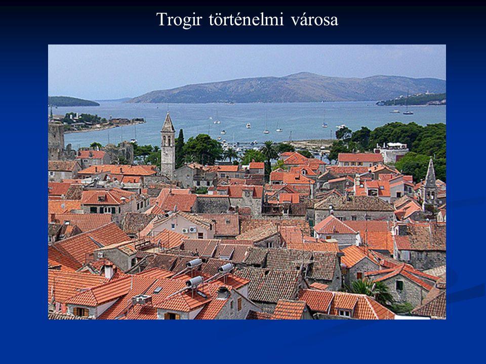 Trogir történelmi városa