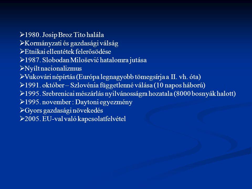 A horvát állami televízió: Hrvatska Radiotelevizija (HRT).