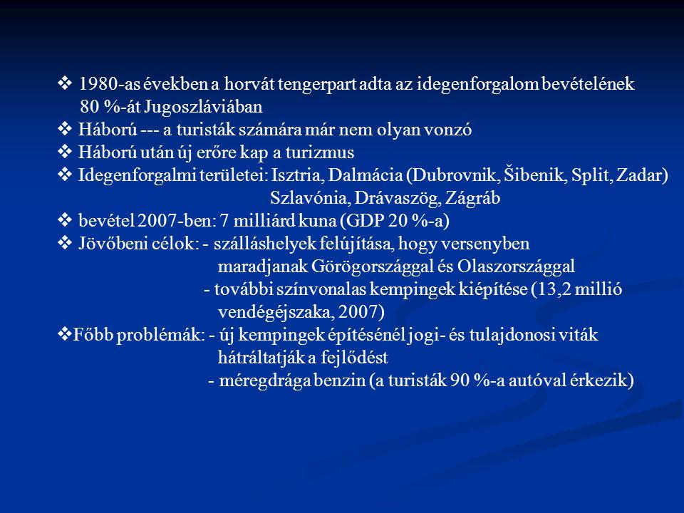 7.Gasztronómia Brodet: a tengerpart legnépszerűbb hallevese melyet agyagtálban, parázson főznek.