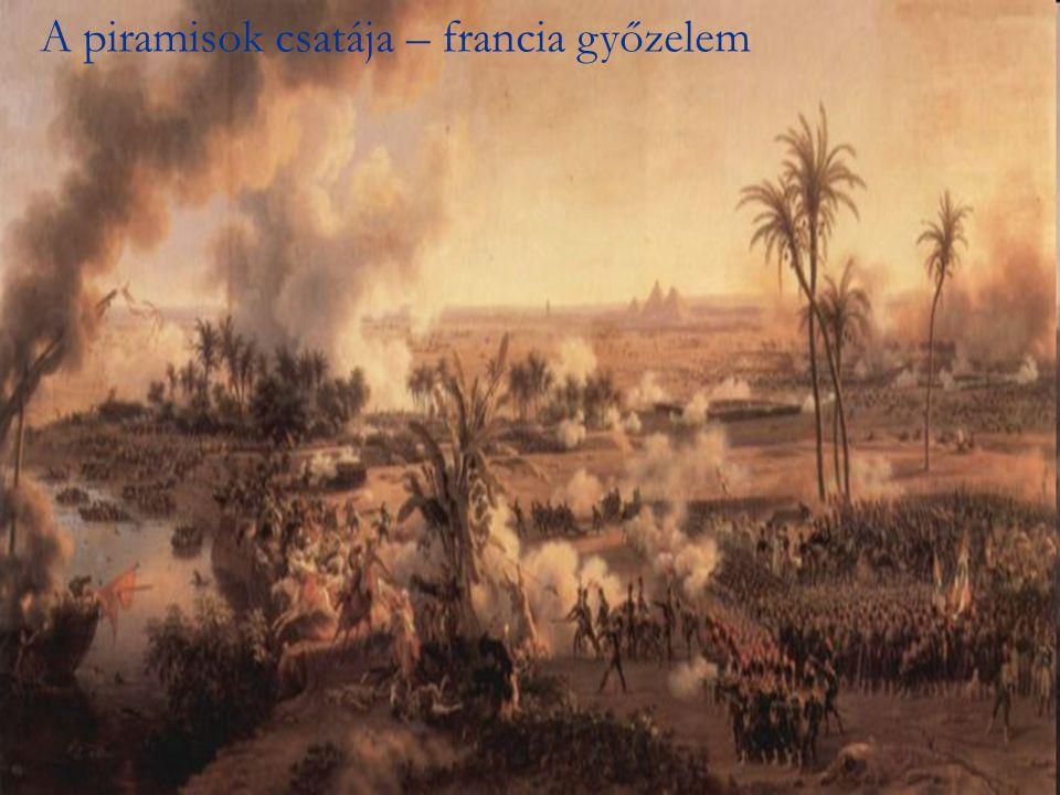 A piramisok csatája – francia győzelem