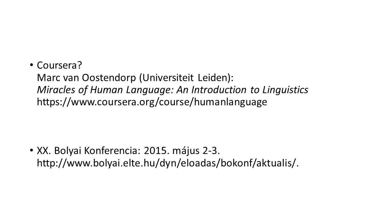 Projektek Galla Kristóf: léteznek-e gyökök a sémi nyelvekben.