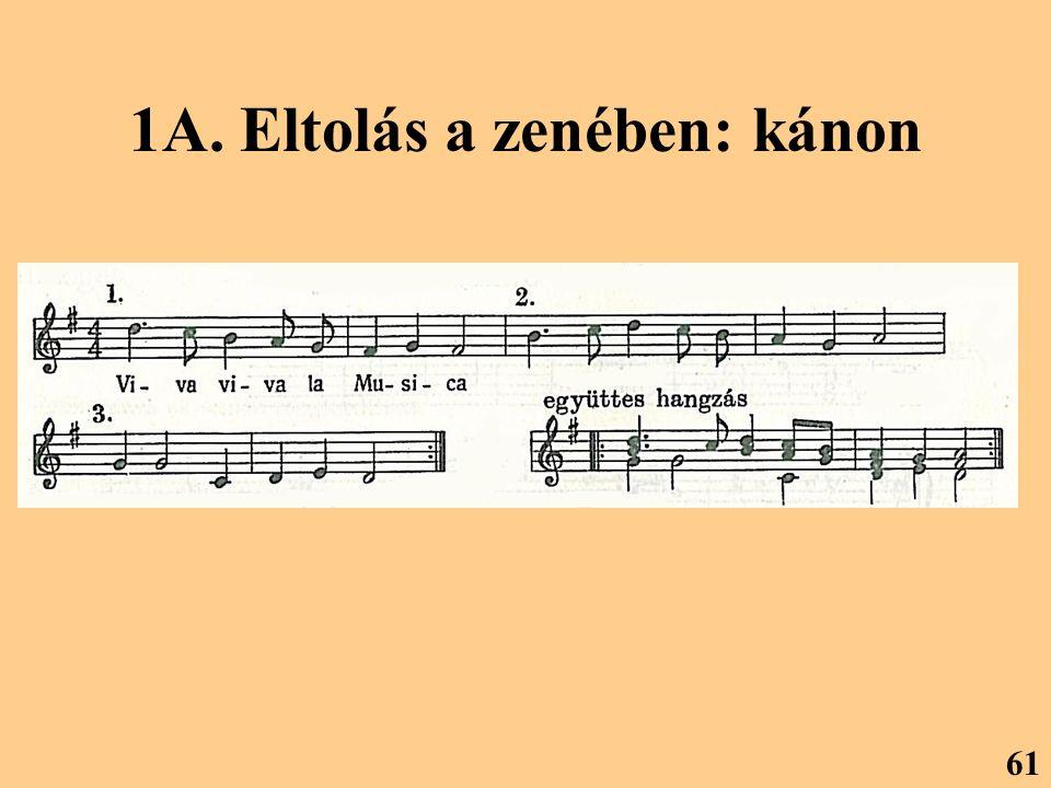 1A. Eltolás a zenében: kánon 61