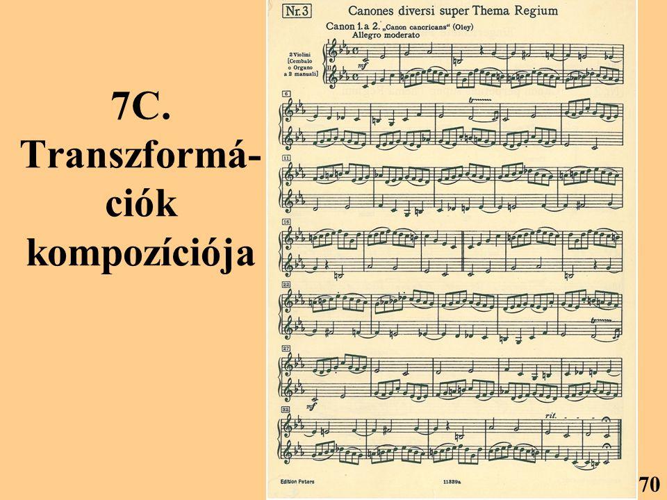 7C. Transzformá- ciók kompozíciója 70